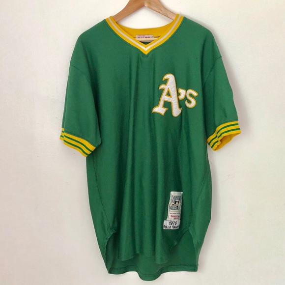 size 40 0255c b5d7f Mitchell & Ness Oakland A's Rollie Fingers Jersey